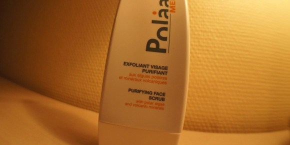 Test du nouvel exfoliant visage purifiant de Polaar Men