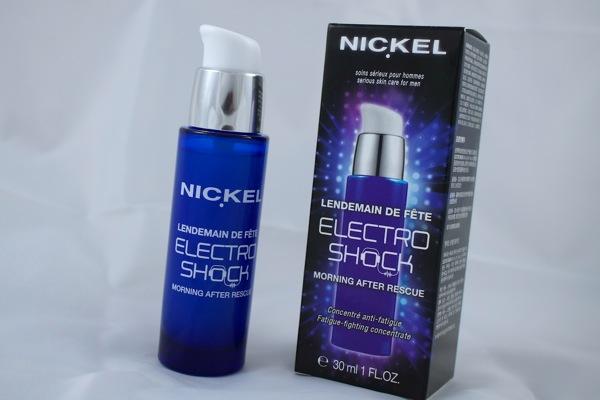Test du soin Lendemain de Fête Electro Shock de Nickel