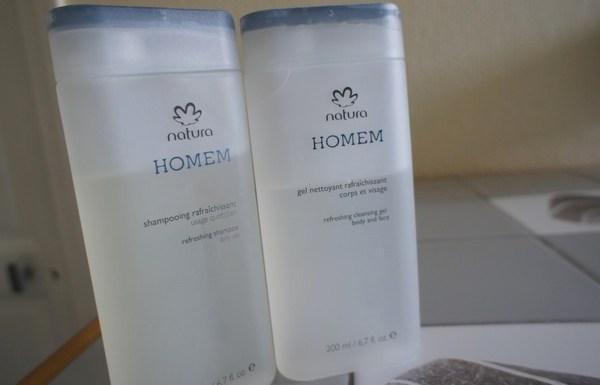 Natura Brasil : le shampooing Homem est aussi bien que le gel douche