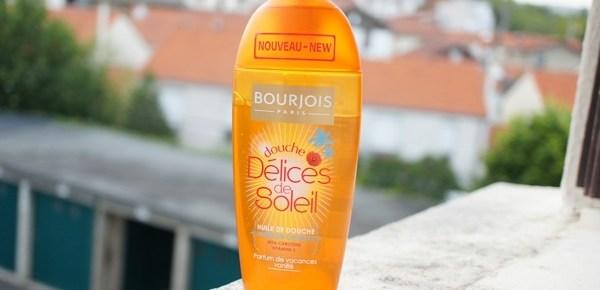 Piqué dans le rayon des copines : Huile de Douche Bourjois Délices de Soleil
