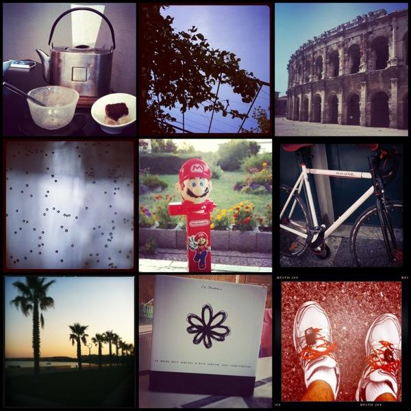 Instagram été