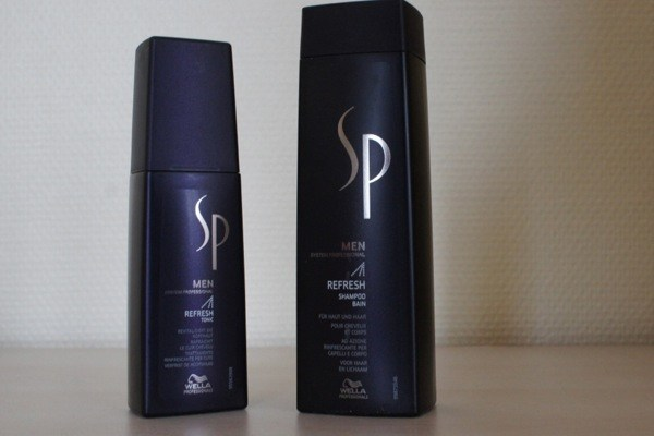 Test : SP Men Refresh Shampoo