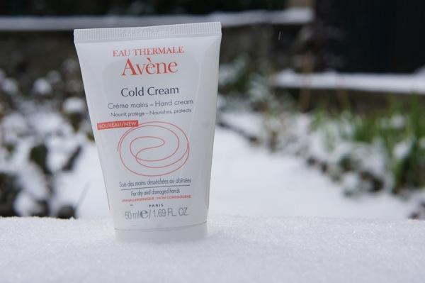 Testé et approuvé :  Crème mains Avène Cold Cream