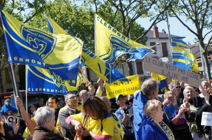 Lundi 3 mai : manifestation des supporters de l'ASM