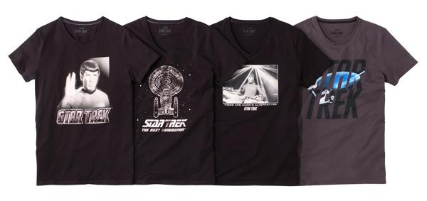 Collection Star Trek chez Celio