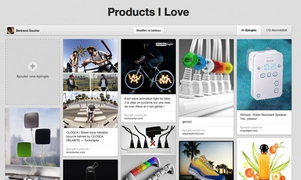 Pinterest product