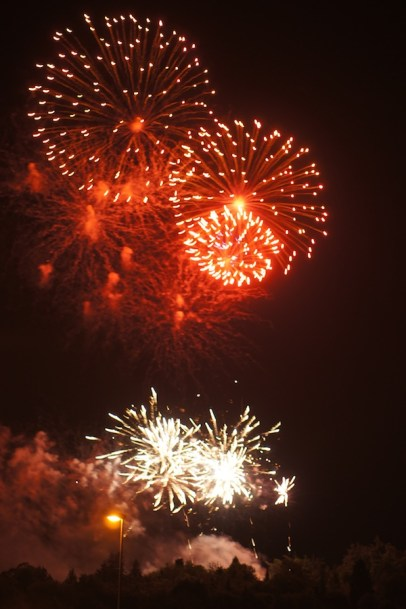 Dimanche 14 juillet : Feu d'artifice du 14 juillet