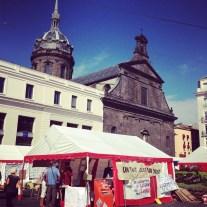 Vendredi 6 septembre : campement dans le centre de Clermont par des familles sans logement