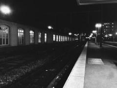 Jeudi 9 janvier : à la gare