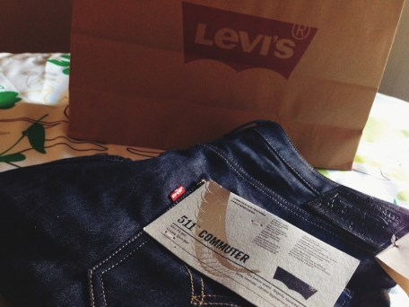 Vendredi 10 janvier : mon Levi's Commuter