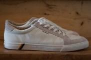 Dimanche 27 avril : mes nouvelles baskets blanches