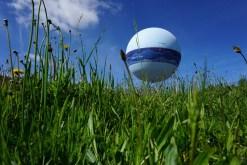 Jeudi 5 juin : le Ballon des Dômes à Vulcania semble posé sur l'herbe