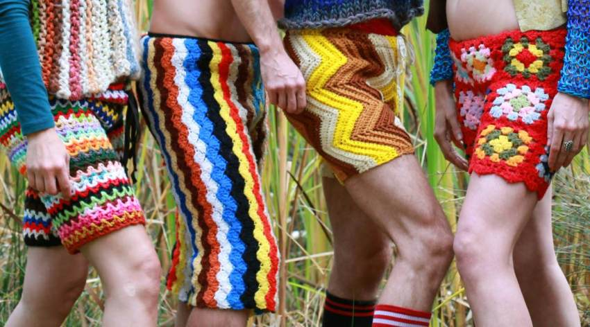 Le pantalon et short en crochet : future mode pour homme ?