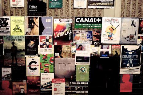 Lundi 2 février 2015 : dans les couloir du festival du court métrage de Clermont-Ferrand