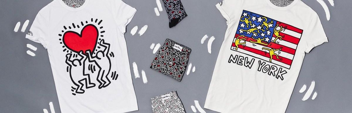 Collection Keith Haring chez Celio
