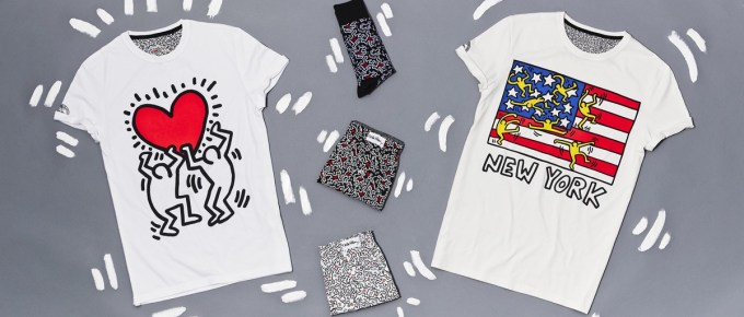 Collection Keith Haring chez Celio