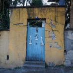 Jeudi 19 mars : une vieille porte pas loin de la maison. Photo prise en fait lundi, mais rien de bon ce jeudi