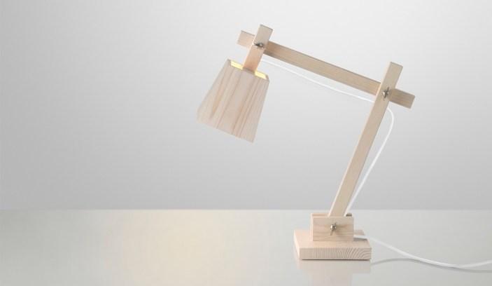wood lamp_white
