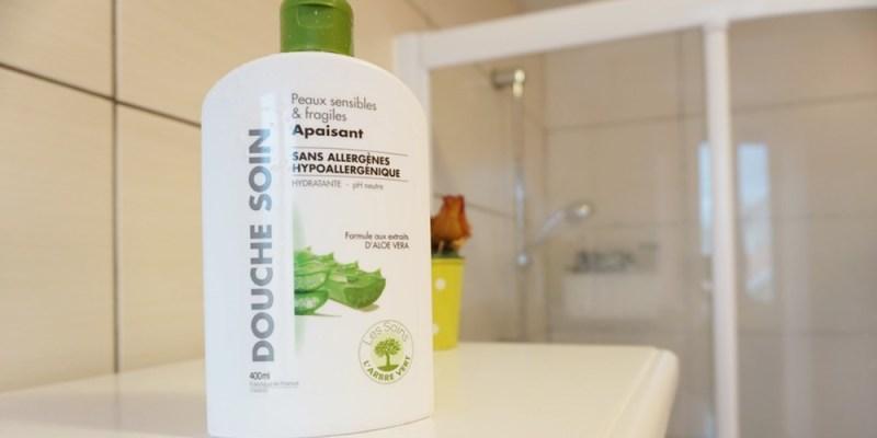 Test du gel douche soin apaisant L'Arbre Vert