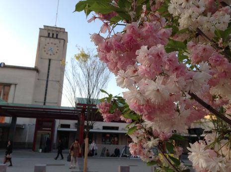 Vendredi 24 avril 2015 : à la gare de Clermont-Ferrand