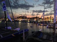 Le port : un soir de Tour de France à la voile (19 juillet)