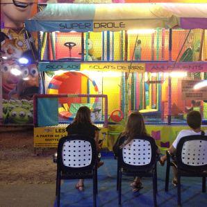 Pirate Parc : les parents attendent les gamins