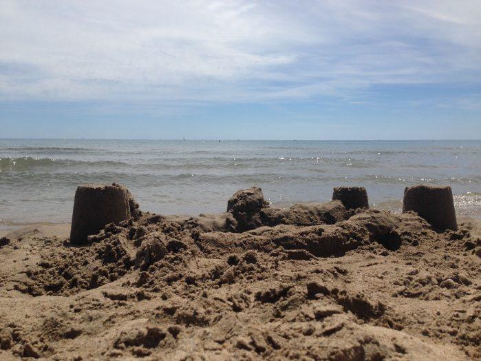 Mon château de sable