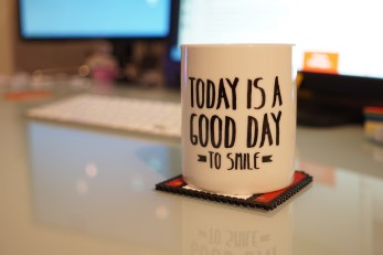 Lundi 4 janvier : Today is a good day to smile