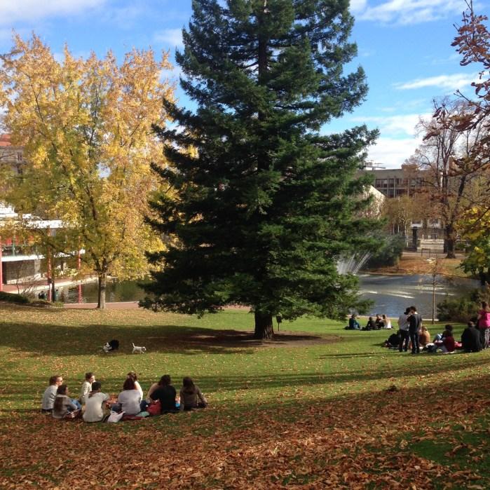 Pique-nique au Jardin Lecoq à Clermont