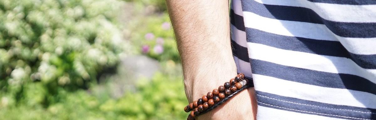 Ma sélection de bracelets pour homme pour cet été