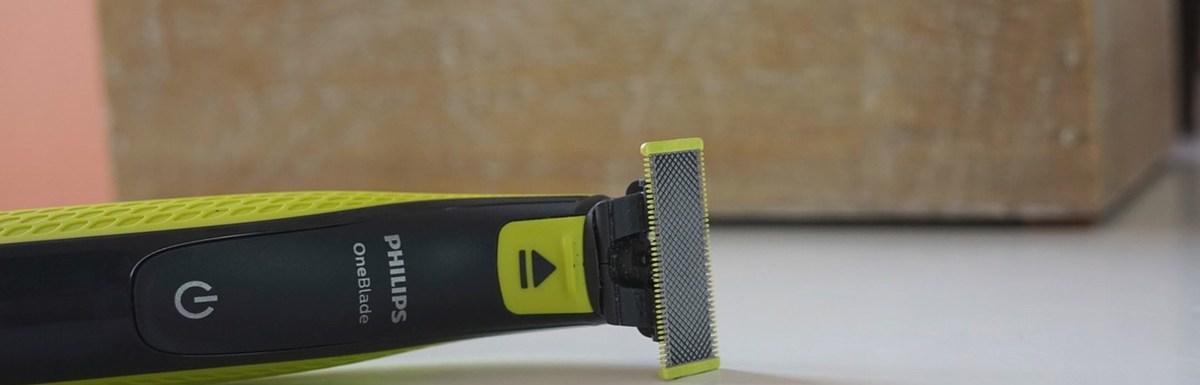 Test du nouveau rasoir hybride Philips OneBlade