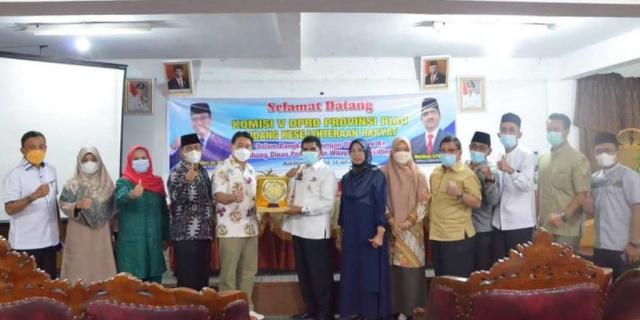 Jambi dan Sumbar Jadi Lokasi Kunjungan Observasi DPRD Riau