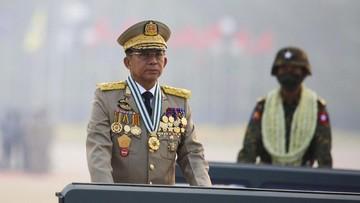 Jenderal Min Deklarasikan Diri PM Myanmar