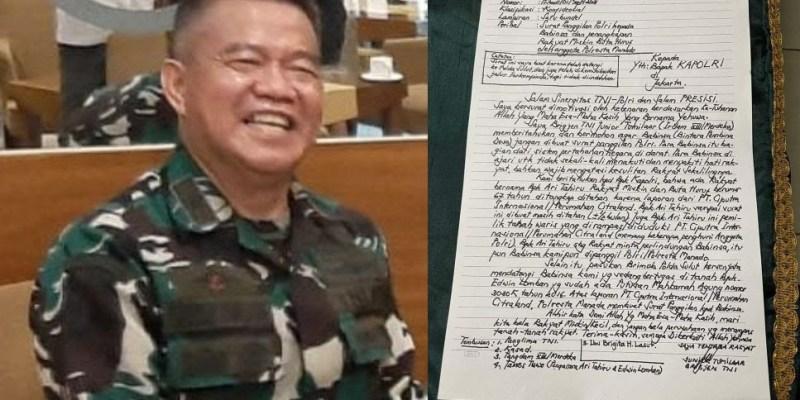 Polisi Militer Akan Periksa Surat Terbuka Brigjen TNI Junior Tumilaar Soal Membela Babinsa