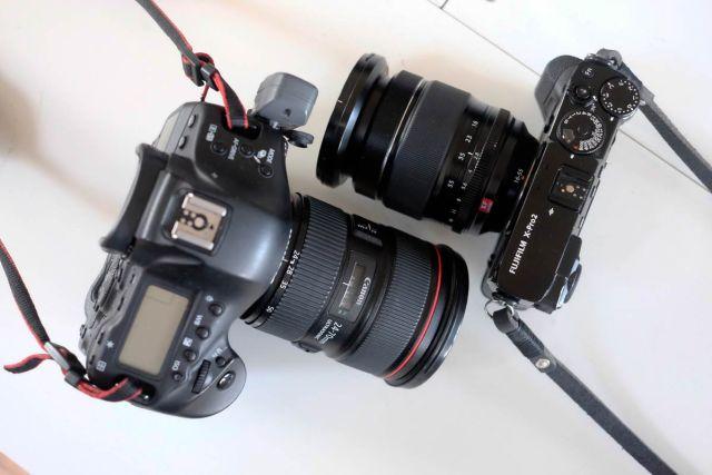 Canon+Fujifilm