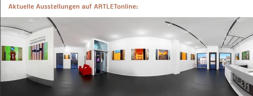 Ausstellung des Kölner Industriefotografen in der ARTLET-Galerie