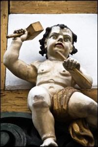 Bildhauer, Figur, Sulamith Sallmann