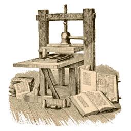Buchpresse, Druckerpresse