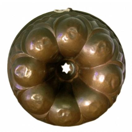 Gugelhupfbackform aus Kupfer