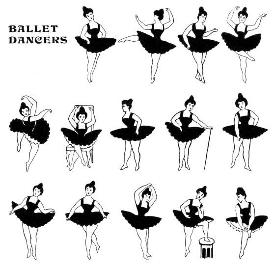 sw: Ballettfiguren