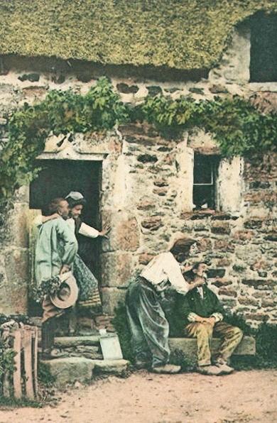 Hausbesuch, 1907