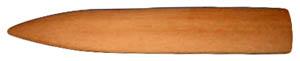 Buchbinderwerkzeug: Falzbein aus Buchenholz