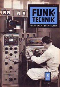 """Zeitschrift: """"Funktechnik"""", DDR"""