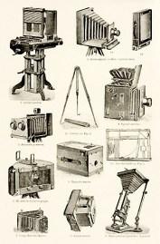 Fotoapparate: verschiedene Modelle