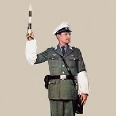 Verkehrspolizist der DDR