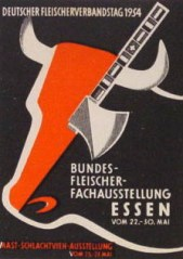 fleischerausstellung_1954_reklamemarke