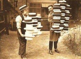 Hutmacher, Hüte, hatters