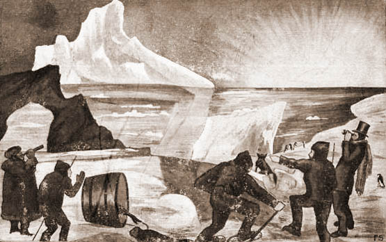 Nordpol, Polarfoscher, Expedition