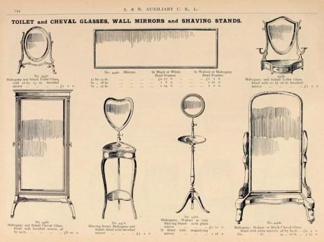 Stand- und Toilettespiegel im Katalog