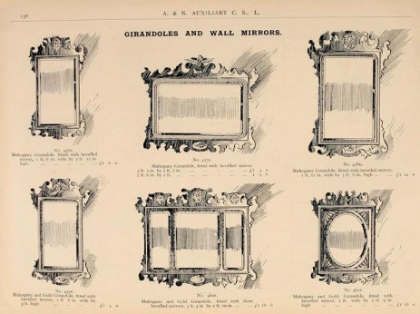 Wandspiegel im Katalog